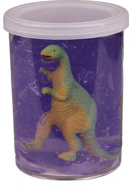 dinosaurus met slijm