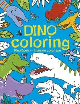 Dino Coloring kleurboek