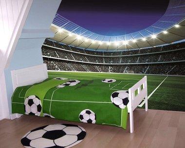 Voetbal Corner XXL posterbehang (254 x 368 cm)