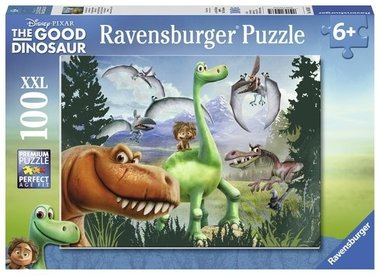 100 stukjes The Good Dinosaur puzzel