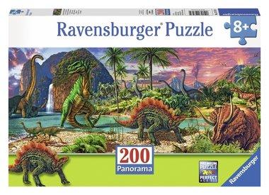 200 stukjes XXL dino puzzel
