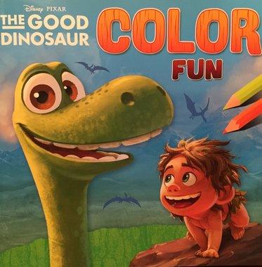 Kleurboek: The Good Dinosaur Color Fun