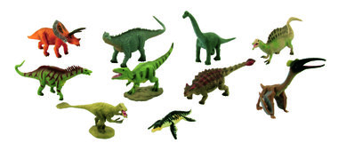 . Mini Collecta Prehistorie set B dinosaurussen