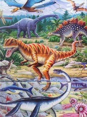 35 stukjes dinosaurussen (Larsen)
