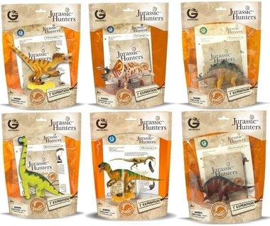 Jurassic Hunters verzameldino's