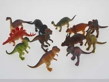 Plastic dinosaurussen (15 cm)