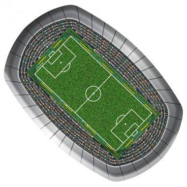 Bordjes voetbalstadion 8x (ovaal)
