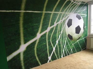 Voetbal Goal XXL posterbehang (254 x 368 cm)