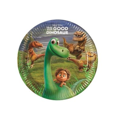 Bordjes (8x) 23 cm (Good Dinosaur)