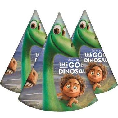 Hoedjes (6x) (The Good Dinosaur)