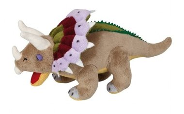 Triceratops knuffel (27x7x8cm)