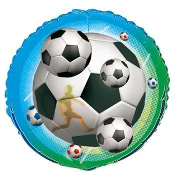 Voetbal folie ballon