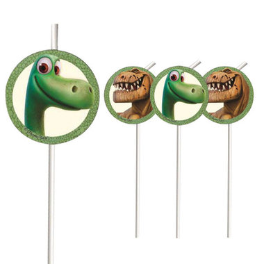 Dinosaur rietjes (6x) (The Good Dinosaur)