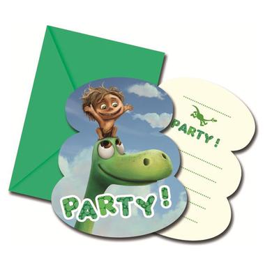 Dinosaur uitnodigingen (6x) (The Good Dinosaur)