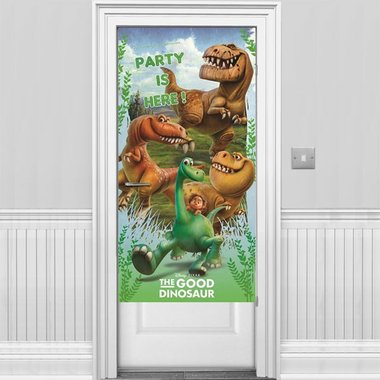 Party deurposter (plastic) (The Good Dinosaur)