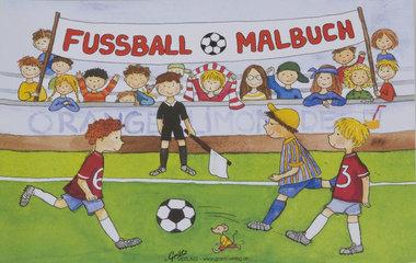 Voetbal kleurboek