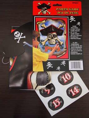 Piraten Prik Plak spel