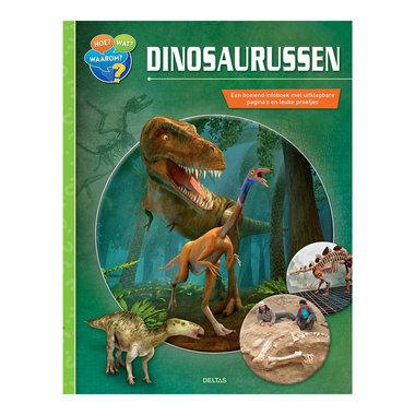 Boek: Hoe Wat Waarom dinosaurussen