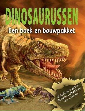 Boek en bouwpakket: Dinosaurussen