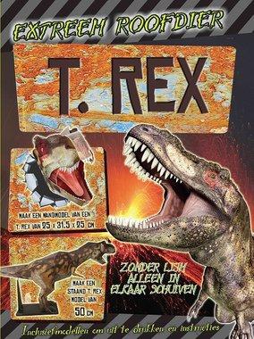 Uitdruk- en bouwboek: Extreem Roofdier T-rex