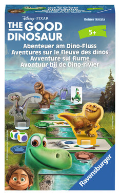 The Good Dinosaur Avontuur bij de Dino-Rivier Pocketspel