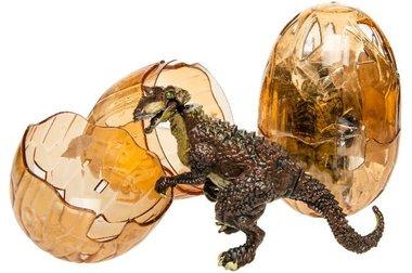 Dinosaurusei met knutsel dino