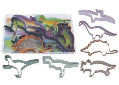 koekjes uitsteekvormen dinosaurussen (6x)