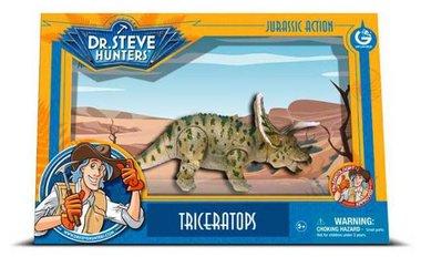Beweegbare Triceratops (Geoworld)