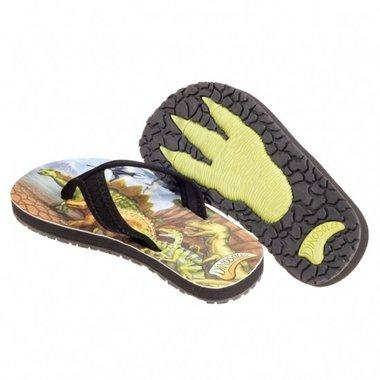 Dinosaurus slippers maat 24/25 (laatste maten)