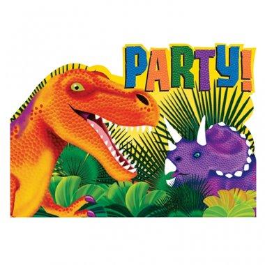 Uitnodigingen (Diplophosaurus Feest)