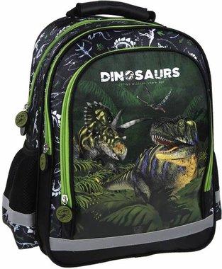 (UITVERKOCHT) Dinosaurus rugtas GROOT (38x28x18cm)