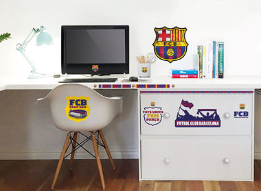 FC Barcelona muurstickers