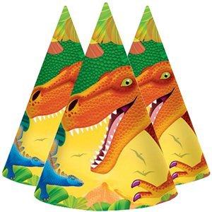 Hoedjes (8x) (papier) (Diplohosaurus)