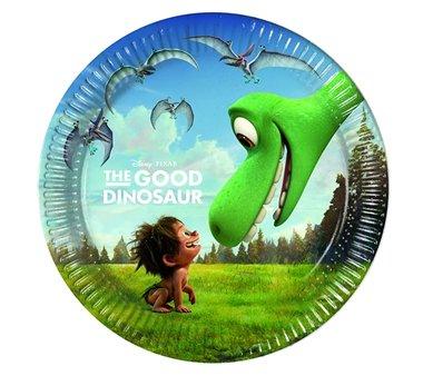 Bordjes (8x) taart 20 cm (The Good Dinosaur)