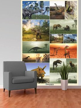 Dinosaurus Fotobehang (232 x 158 cm)