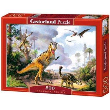 500 stukjes T-rex puzzel