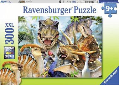 300 stukjes Dinosaurus puzzel