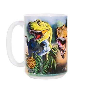 Dinosaurus beker-mok (groot)