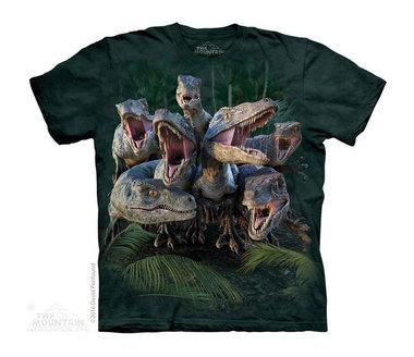 T-shirt Raptor Gang (groen)