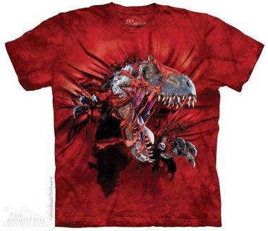 T-shirt Red Ripper Rex (rood)