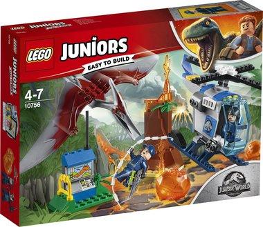 LEGO: Jurassic World Ontsnappen aan de Pteranodon