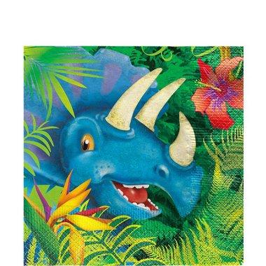 Servetten Dinosaurus (16x) (Dinoworld Feest)