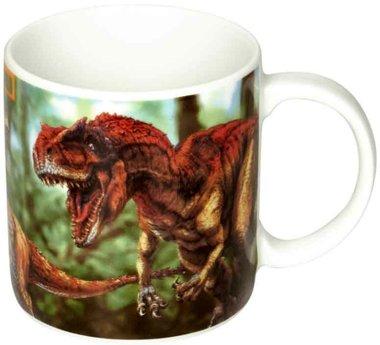 Dinosaurus T-rex world beker/mol