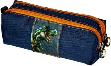 Etui T-rex World blauw/oranje
