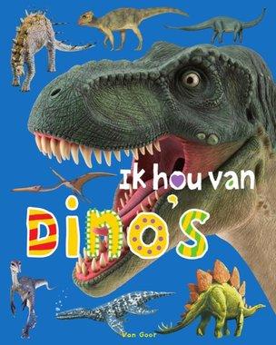 Kleuterboek: Ik hou van Dino's