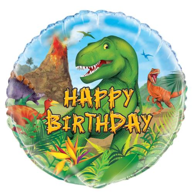 Ballon Dinosaurus Helium/Folie (Dinoworld)