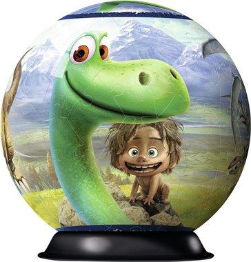 72 stukjes 3D The Good Dinosaur puzzel (rond)
