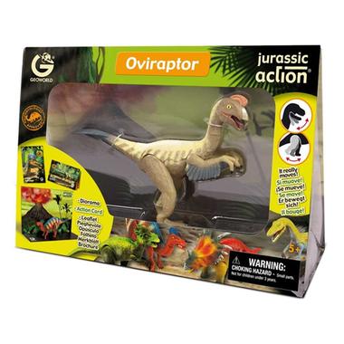 Beweegbare Oviraptor (Geoworld)