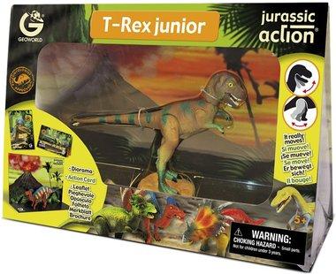 Beweegbare T-rex (Geoworld)