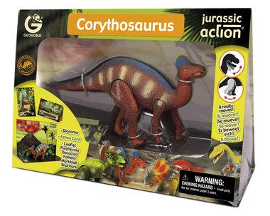 Beweegbare Corythosaurus (Geoworld)